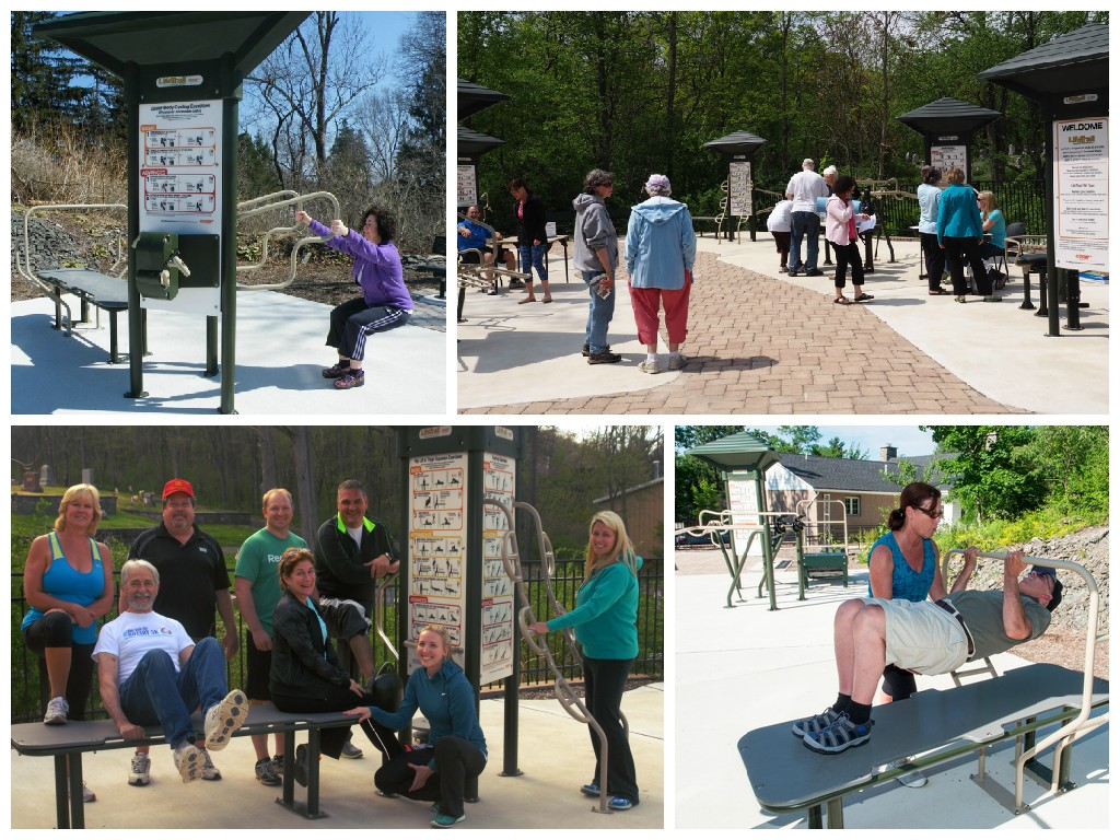 Fitness Park collage